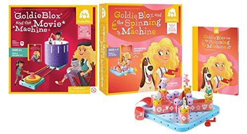 GoldieBlox Movie Machine and Spinning Machine by GoldieBlox