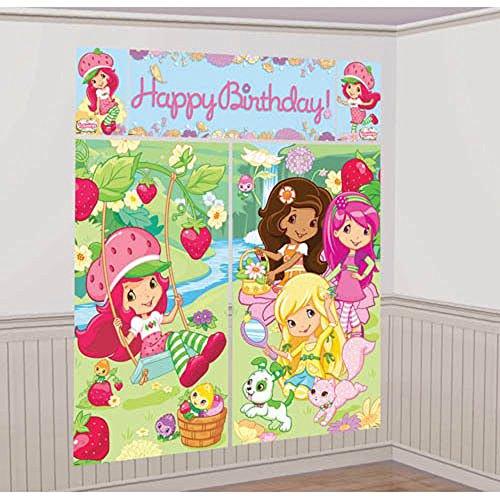 Strawberry Shortcake Dolls Giant Wall Decorating Kit 5pc