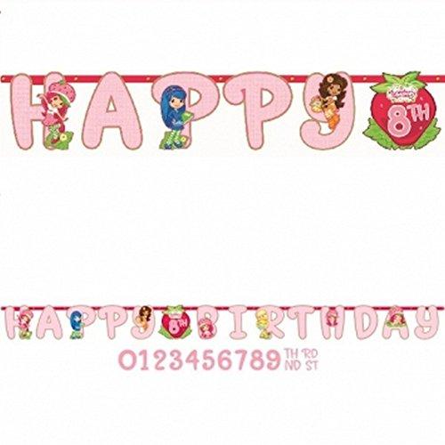 Strawberry Shortcake Dolls Jumbo Letter Banner Kit 1ct