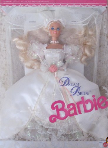 DREAM BRIDE BARBIE DOLL Wedding Romance in Satin and Lace 1991