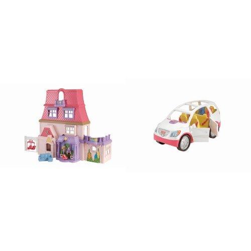 Loving Family Dollhouse and Accessory