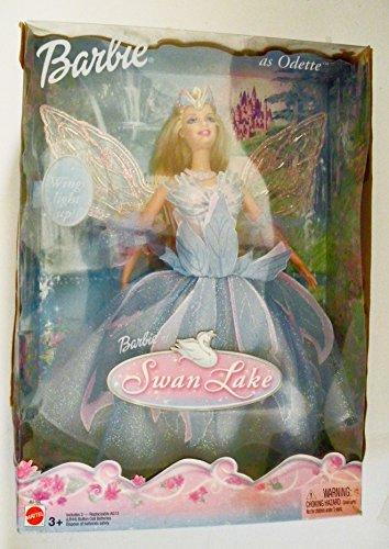 Swan Lake Barbie Doll as ODETTE w Light Up Wings 2003