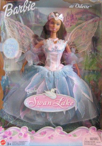 Swan Lake Barbie as Odette Doll AA w Light Up Wings 2003