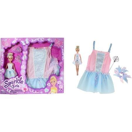 Sparkle Girlz Doll Matching Dress-up Set