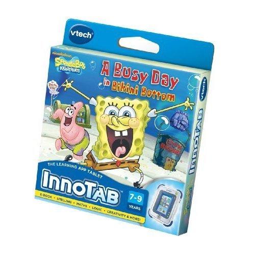 VTech InnoTab Software SpongeBob SquarePants - A Busy Day in Bikini Bottom by Innotab