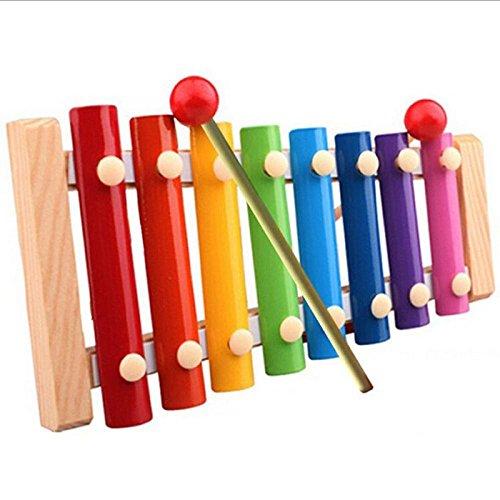 YIWULA Musical Toys Xylophone Wisdom Development Wooden Instrument