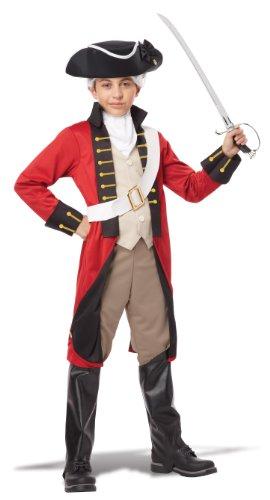 California Costumes British Redcoat Child Costume X-Large