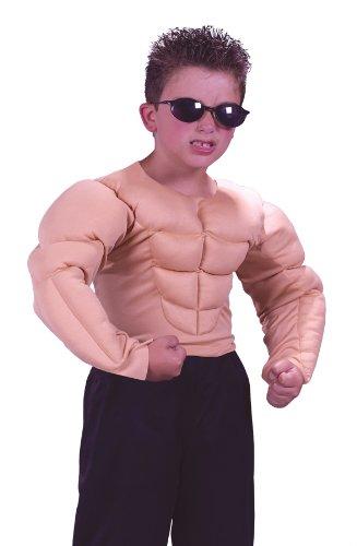 Muscle Shirt Child Costume - Medium 8-10