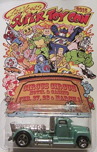 Hot Wheels CUSTOM TURBINE TIME 2015 Las Vegas Super Toy Convention 11 Made
