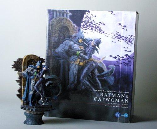 Batman Catwoman Japanese Import Statue Kotobukiya