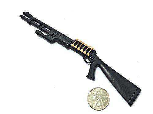 4D 16 Scale M1 Super 90 Semi-Automatic Shotgun Benelli Miniature Toy Guns Model Fit for 12 GI Joe Action Figure