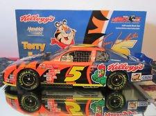 Terry LaBonte 2002 Action Collectables Kelloggs Monte Carlo 124 Diecast Car