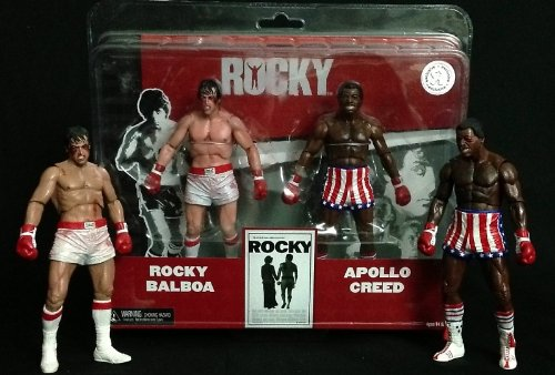 Neca - Rocky Action Figure 2-Pack Rocky vs Apollo Exclusive 18 cm