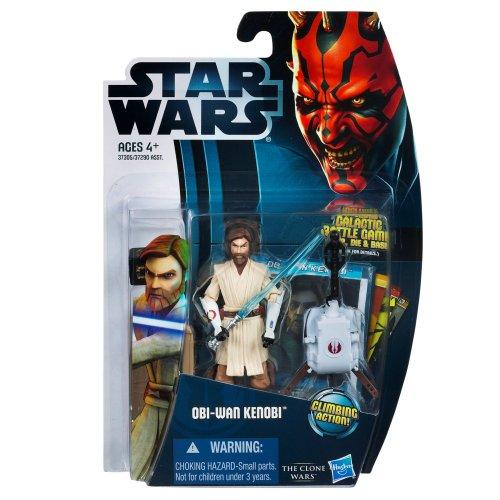 Star Wars 2012 Clone Wars Action Figure CW No 12 ObiWan Kenobi