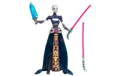 Star Wars Clone Wars Action Figure No 15 Asajj Ventress