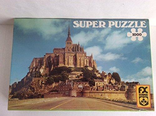 Super Puzzle 1000 Of Mont St Michel - Frankreich