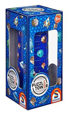SCHMIDT Tower Children Space Puzzle 10 Pieces One Size
