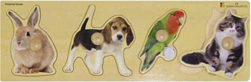 Edushape Giant Pets Puzzle 4 Piece