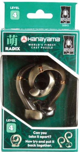 RADIX Hanayama Cast Metal Brain Teaser Puzzle Level 4
