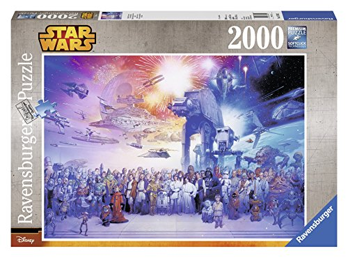 Ravensburger Star Wars Episode I-VI Saga Jigsaw Puzzle 2000-Piece