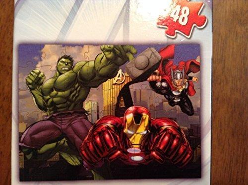 Avengers Assemble Lenticular Puzzle 48 piece