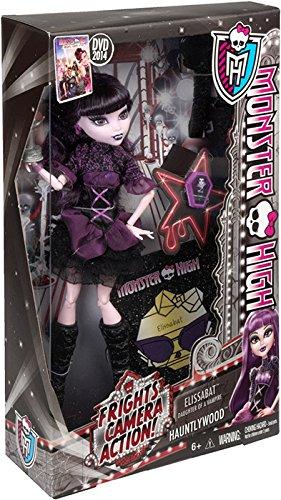 Monster High Frights Camera Action Elissabat Doll
