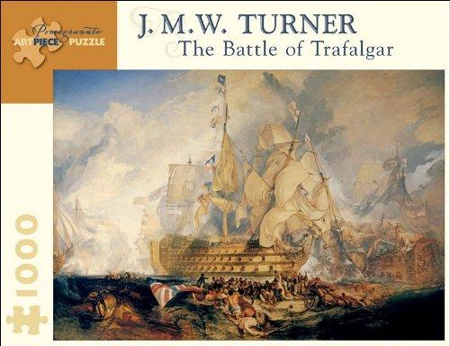 The Battle of Trafalgar 1000 Piece Puzzle Pomegranate Artpiece Puzzle