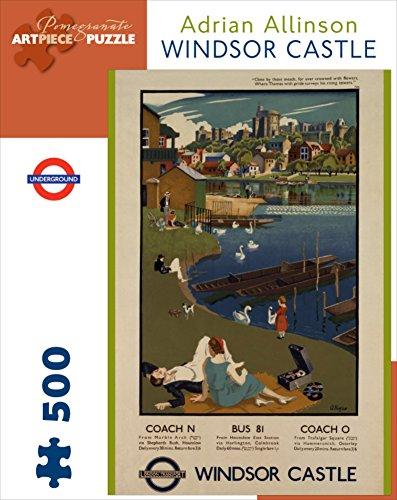 Windsor Castle 500 Piece Puzzle Pomegranate Artpiece Puzzle