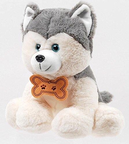 11 Inch Soft Husky Puppy Dog Plush Stuffed Animal