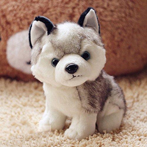 18cm 7 Plush Doll Soft Toy Stuffed Animal Cute Husky Dog Baby Kids Toys Gift