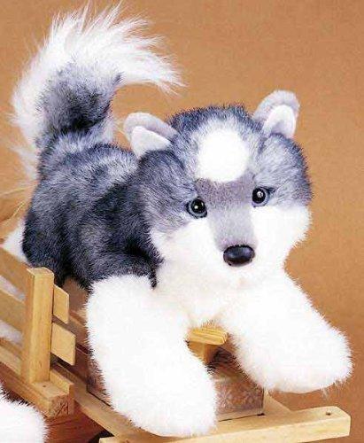 Plush Stuffed Animal Siberian Husky