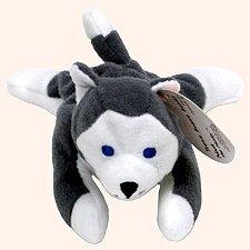 TY Teenie Beanie Babies Nook the Husky Stuffed Animal Plush Toy by G35272299