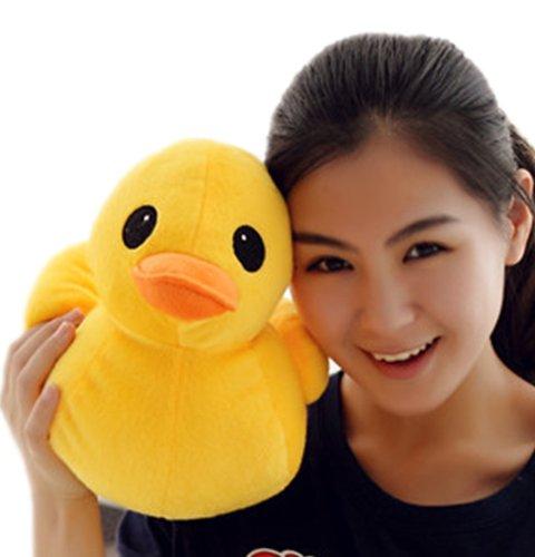30cm11 Giant Yellow Duck Stuffed Animal Plush Soft Toys Cute Doll One Piece