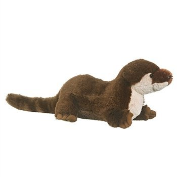 River Otter Plush Stuffed Animal Large Otters 31 Inches From Tip of Nose To End of Tail by Conservation Critters