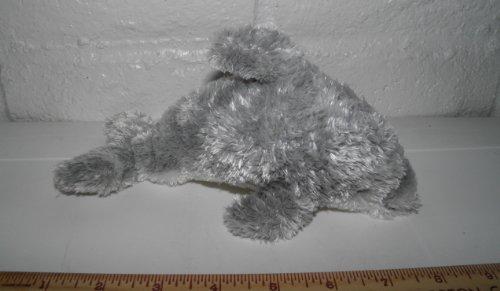 Grey Plush Dolphin Stuffed Animal