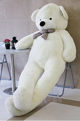 Joyfay 91 Giant Teddy Bear White Stuffed Plush Toy Soft Animals
