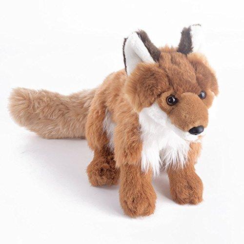 Gloveleya Realistic Wild Stuffed Animal Fox Soft Plush Toys Dolls