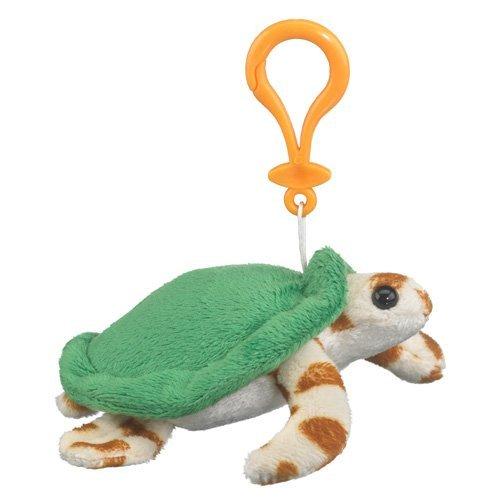 Green Sea Turtle Plush Sea Turtle Stuffed Animal Backpack Clip Toy Keychain WildLife Artists by Wildlife Artists
