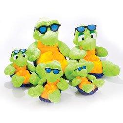 Shades Turtle Stuffed Toy 10 Inch
