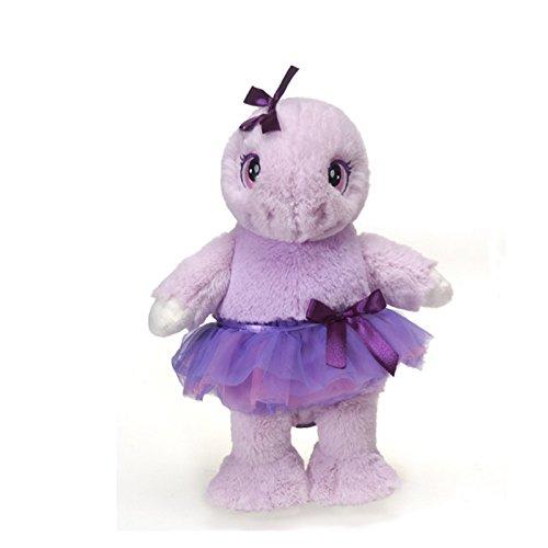 Tutu Sweet Nikiya the Purple Dancing Turtle Stuffed Animal Beanbag Toy by Fiesta Toys - 12
