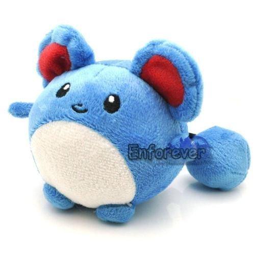 4 New MARILL Plush Soft Toy Doll