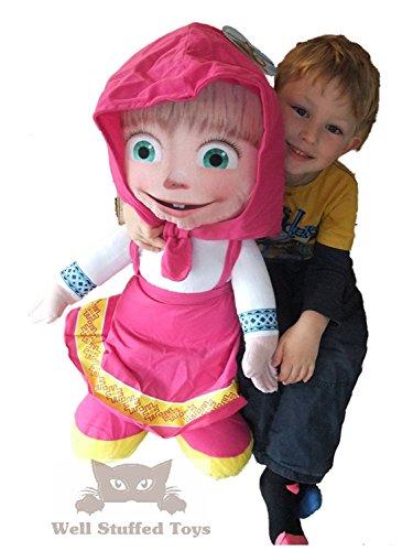 Extra Large Masha Soft Toy Doll 27cm Tall