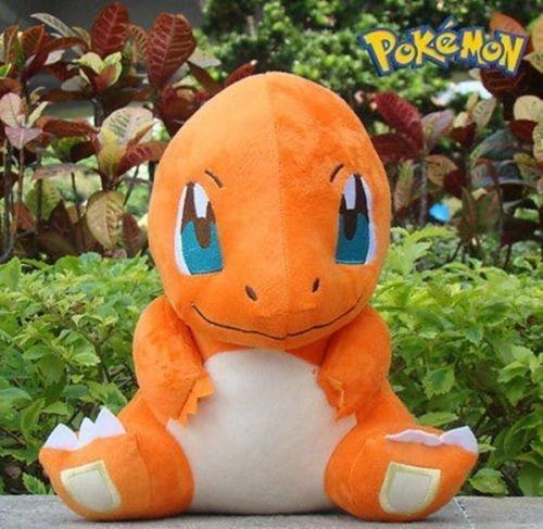 New Pokemon 11 CHARMANDER Rare Plush Soft Toy Doll^PC1795