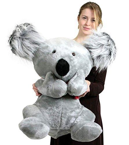 American Made Large Stuffed Koala Bear 26 Inches Soft Big Plush Animal Made in the USA by BigPlush
