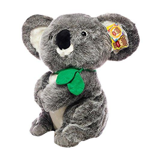 BESTLEE Realistic Gray Koala Plush Stuffed Animal Kids Gift Toy 12 Inch