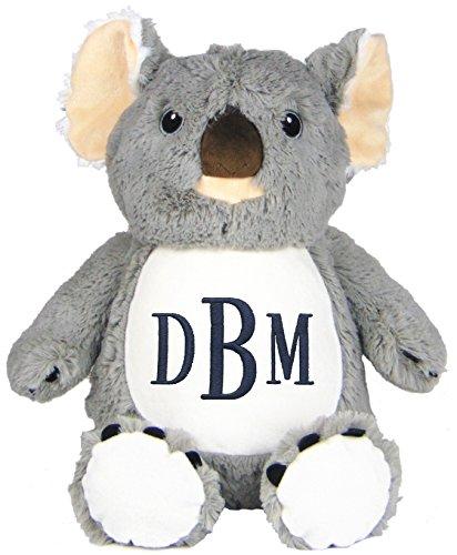 Personalized Stuffed Koala with Embroidered Monogram