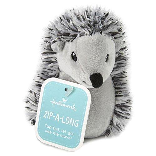 Zip-Along Hedgehog Stuffed Animal Interactive Stuffed Animals