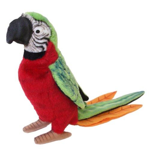 Hansa Parrot Plush RedGreen