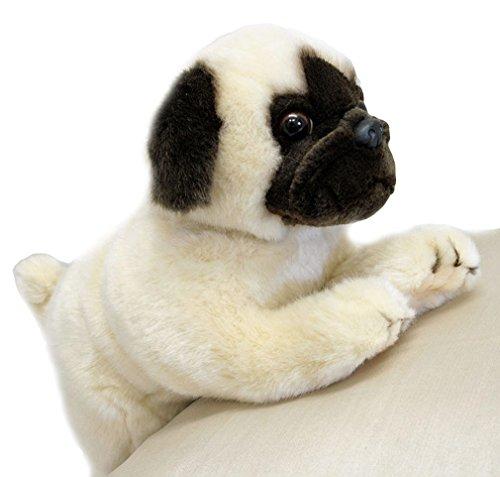Bocchetta Plush Toys Pug Dog Lying Stuffed Animal Plush Toy - Pepito Small Fawn