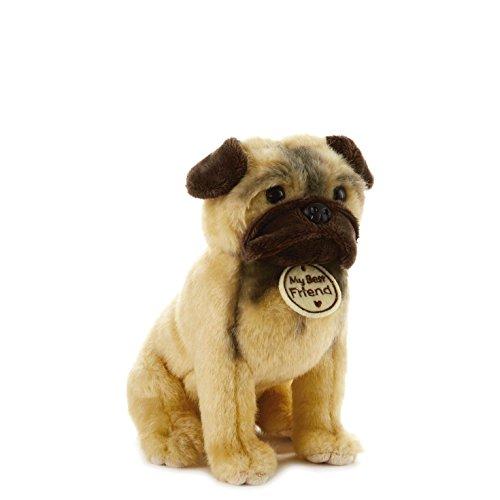 Hallmark My Best Friend Small Pug Plush Stuffed Animal